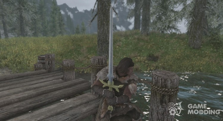 Claymore of Heroes for TES V: Skyrim