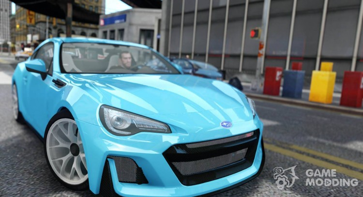 2016 Subaru BRZ STI Concept for GTA 4