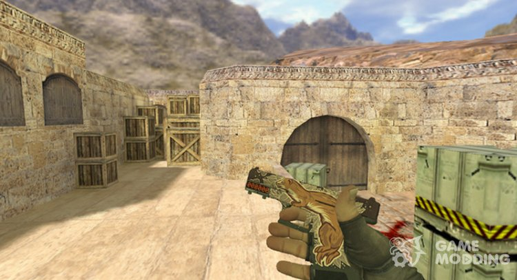 Glock Weasel for Counter Strike 1.6