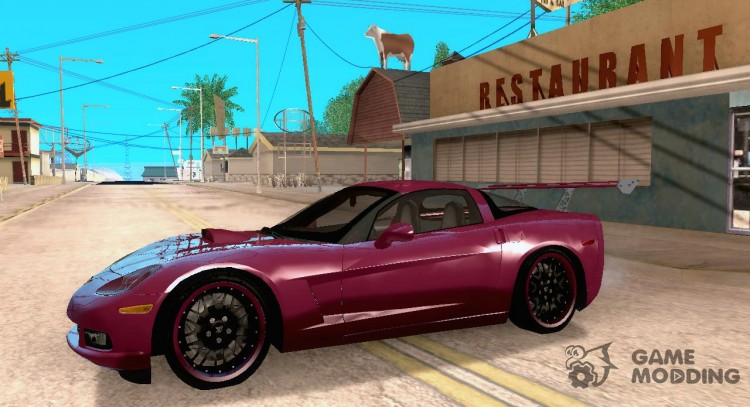 Chevrolet Corvette C6 For Gta San Andreas
