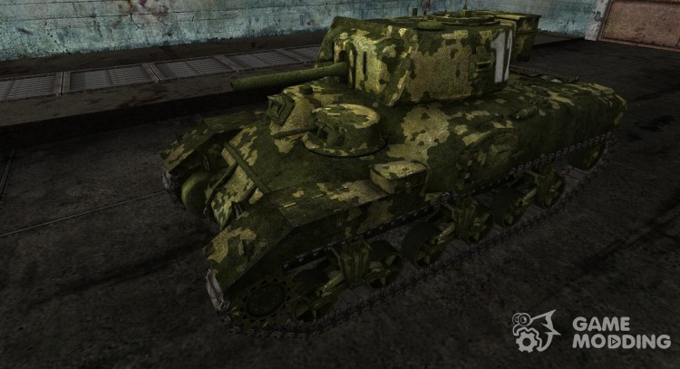 Skin for Ram-II for World Of Tanks