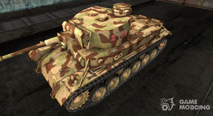 Skin for VK3001 heavy tank program (P) for World Of Tanks