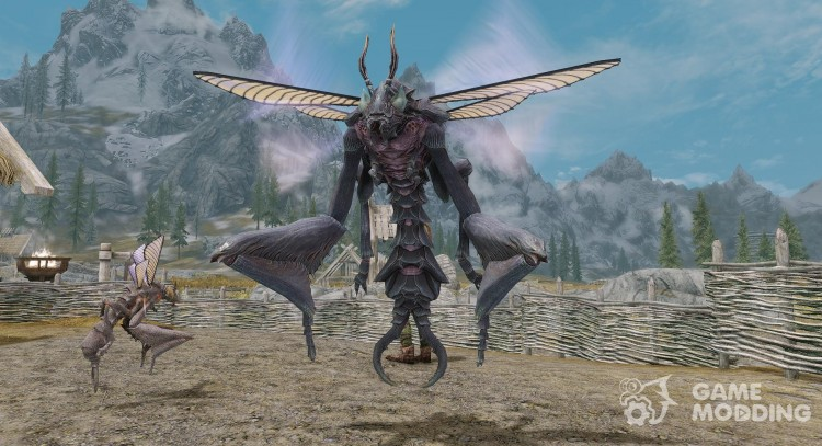 Summon Chaurus Hunters Mounts and Followers for TES V: Skyrim