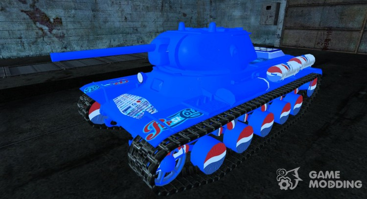 Шкурка для КВ-13 PEPSI для World Of Tanks