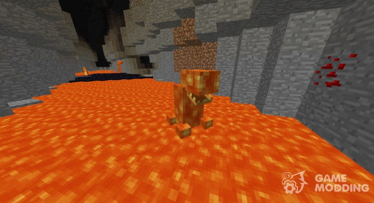 Lava Monster for Minecraft