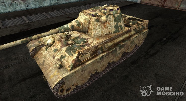Panther II from kamutator for World Of Tanks