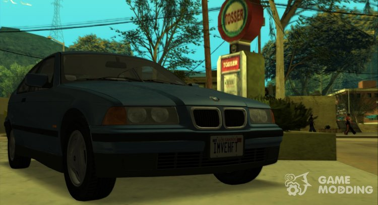 BMW 3-Series (e36) 318ti 1995 Comapact (US-Spec) for GTA San Andreas