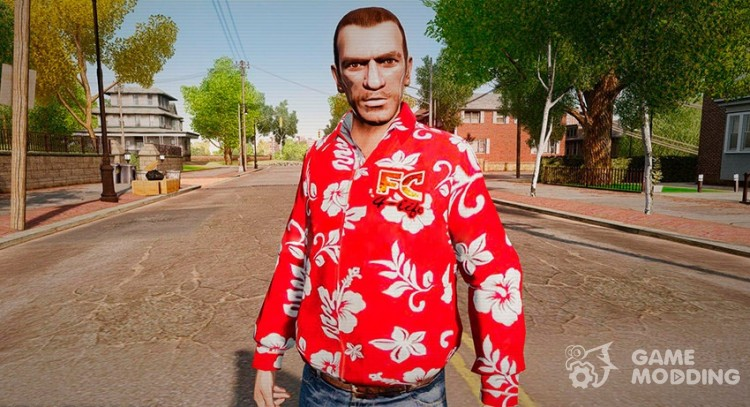 Hawaiian shirt for GTA 4