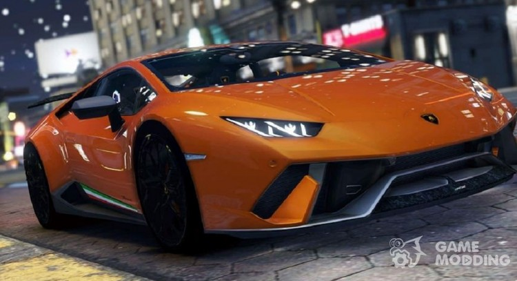 Lamborghini Performante Huracan 2016 for GTA 5