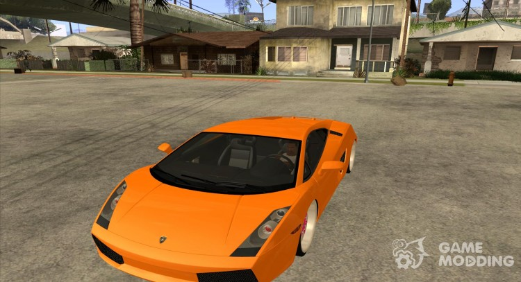 Lamborghini Gallardo White Pink For Gta San Andreas
