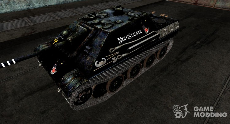 Шкурка для Jagdpanther Night Stalker для World Of Tanks