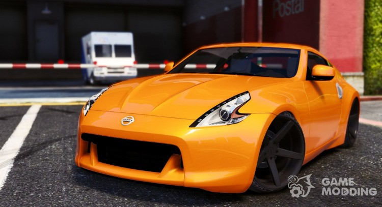Nissan 370z v2.0 for GTA 5
