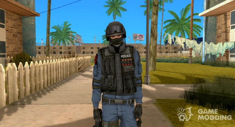 Swat from Point Blank for GTA San Andreas