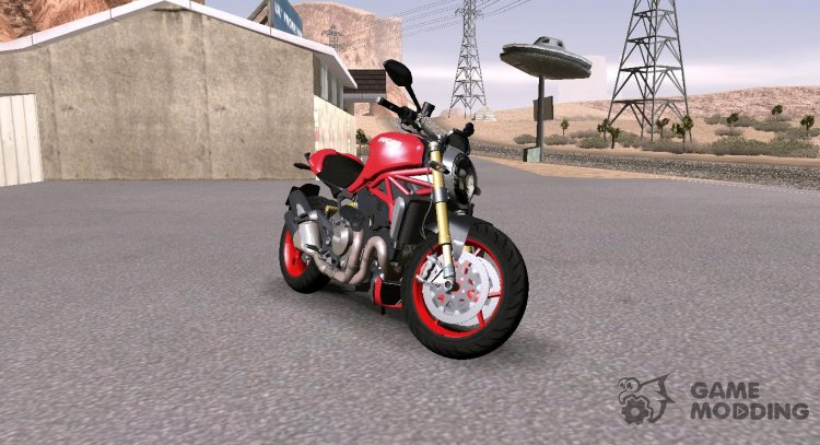 Ducati Monster 1200 S for GTA San Andreas