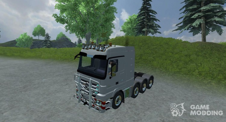 Mercedes-Benz Actros 4160 для Farming Simulator 2013