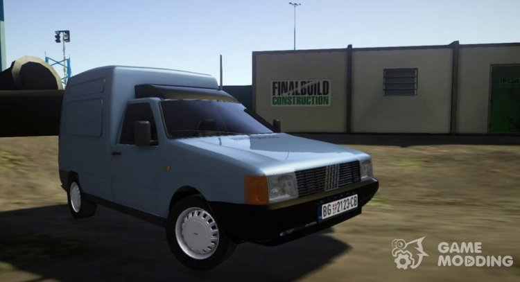 Fiat Fiorino Panel Van 1987 for GTA San Andreas