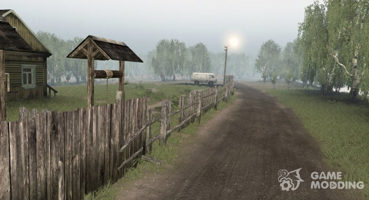 The garden for Spintires 2014