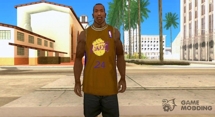 Form BC Los Angeles Lakers for GTA San Andreas