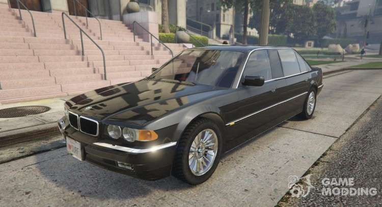 BMW L7-750IL E38 for GTA 5