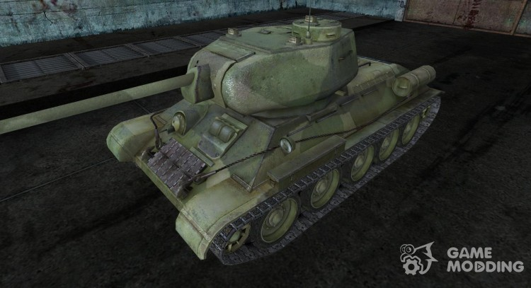 T-34-85 9 for World Of Tanks