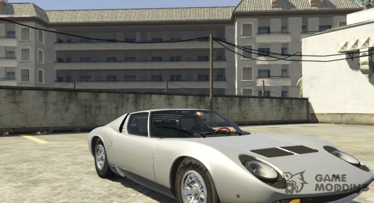 Lamborghini Miura P400 67 V 1 2 For Gta 5