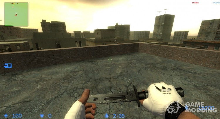 Gloves from adidas for Counter-Strike Source