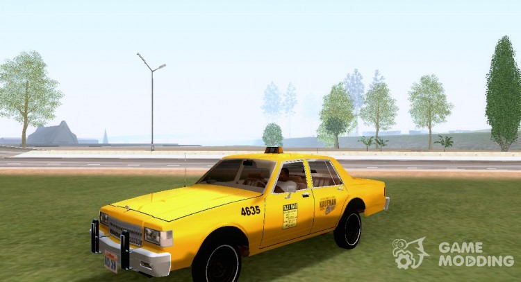 1986 Chevrolet Caprice Taxi for GTA San Andreas