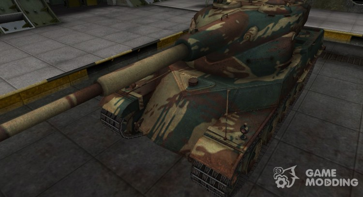 French new skin for AMX 50120 for World Of Tanks