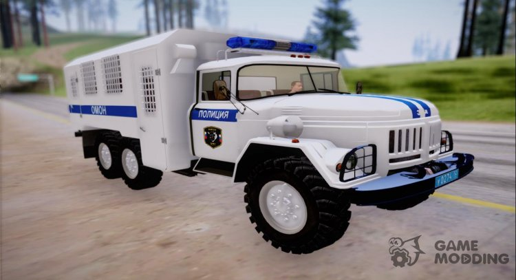 Police ZIL-131 OMON for GTA San Andreas
