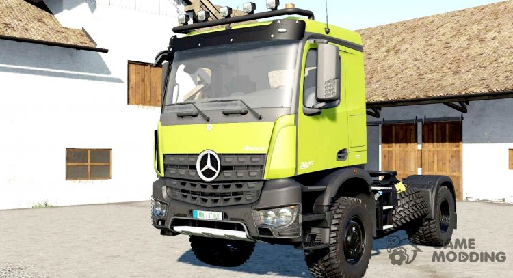 Mercedes-Benz Arocs AS 4x4 for Farming Simulator 2017