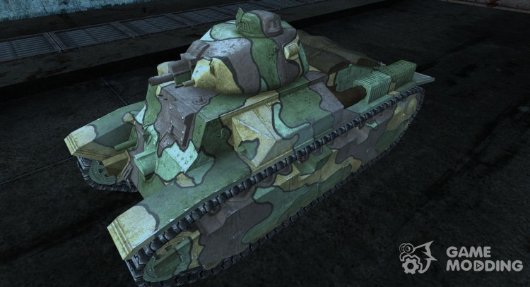 Skin for D2 for World Of Tanks