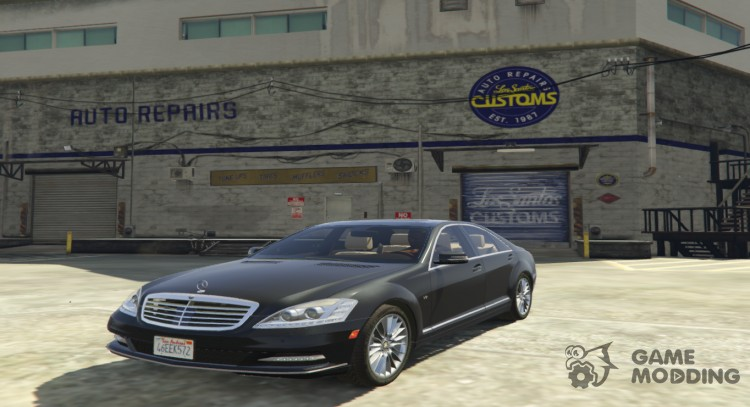 Mercedes-Benz S600 2009 for GTA 5