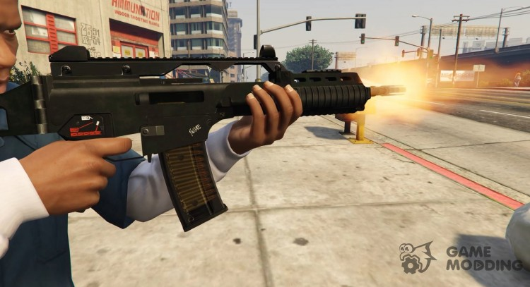 G36k (Animated) for GTA 5
