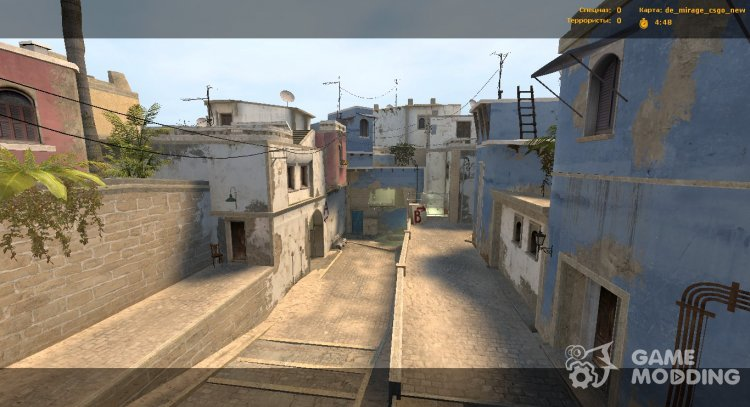 De Mirage from CS:GO for Counter-Strike Source