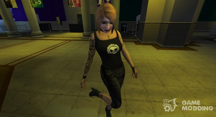Ilyena Faustin (Gothic Metalhead) for GTA 4