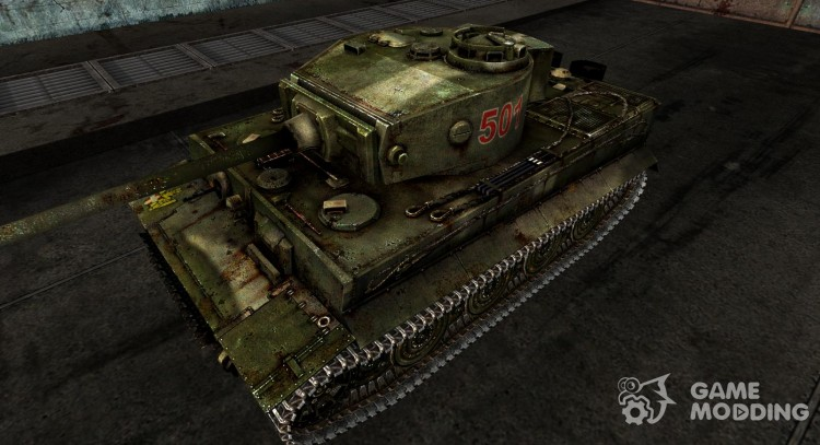 The Panzer VI Tiger for World Of Tanks