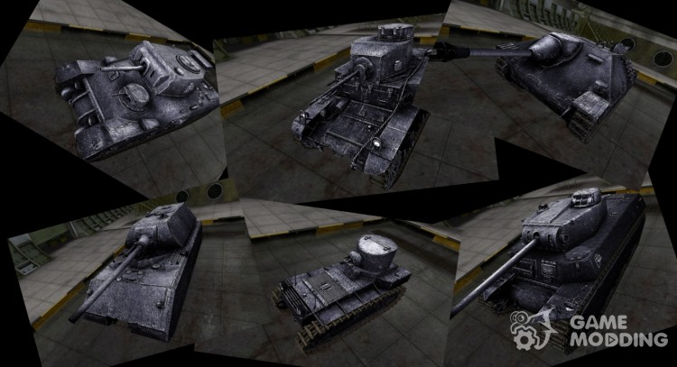 Super Pack of skins for World Of Tanks