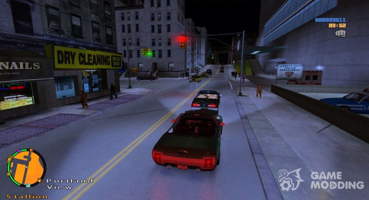 More people and cars on the streets for GTA 3