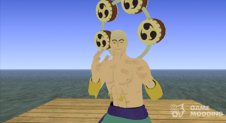Enel (One Piece) for GTA San Andreas