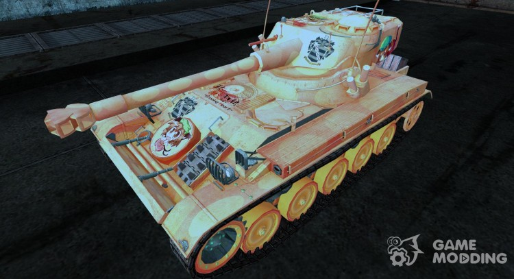 Skin for AMX 13 75 No. 19 for World Of Tanks