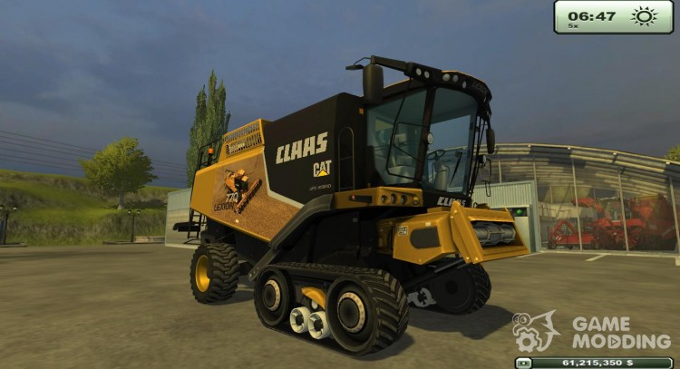 Claas Lexion 770 Terra for Farming Simulator 2013