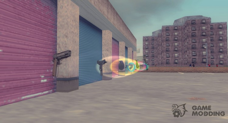 HD Weapons for GTA 3