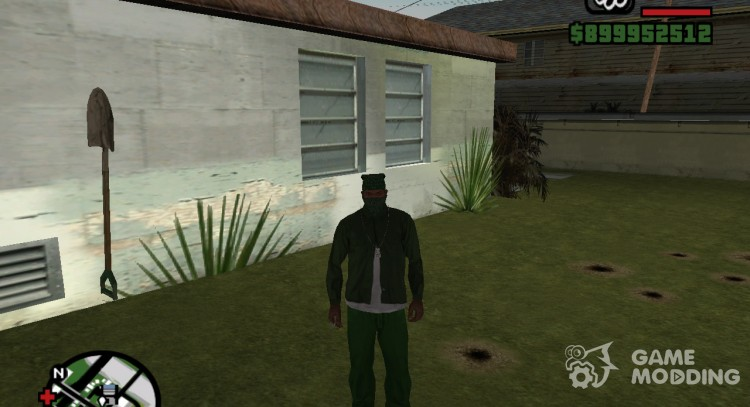 Save No  10 when all the Big smoke missions for GTA San Andreas