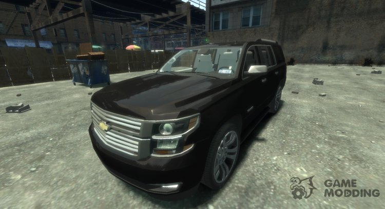 Chevrolet Tahoe 2015 V1.0 for GTA 4
