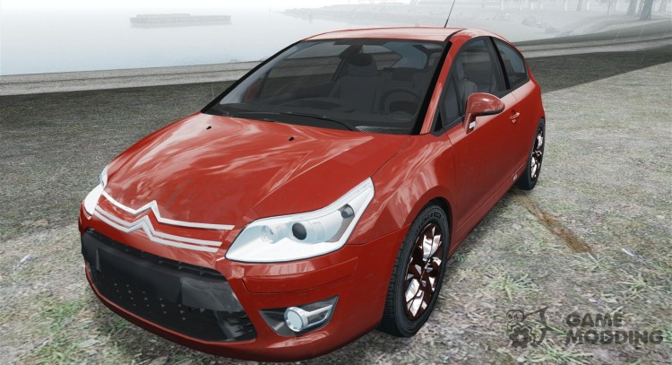 Citroen C4 Coupe Beta для GTA 4