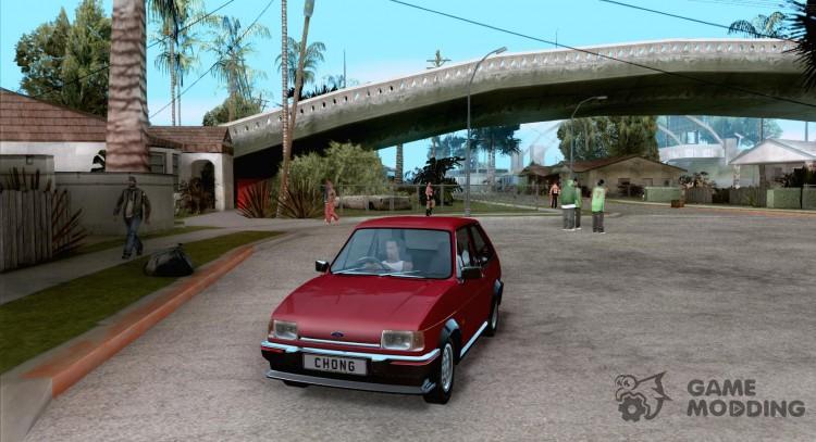 Ford Fiesta Mk2 XR2 1984 for GTA San Andreas