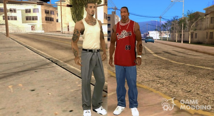 Switch between characters for GTA San Andreas