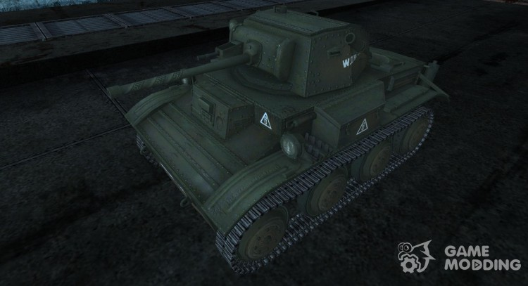 Skin for Mk.VII Tetrarch for World Of Tanks