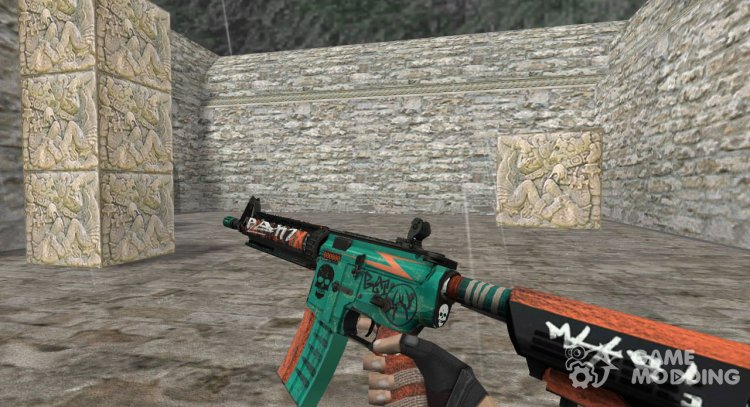 M4A4 Rekt for Counter Strike 1.6