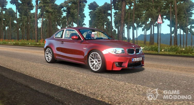 BMW 1M E82 for Euro Truck Simulator 2